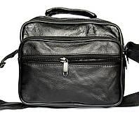 Кожаная сумка - барсетка для мужчин (883)
