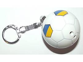 Зажигалка в виде футбольного мяча.