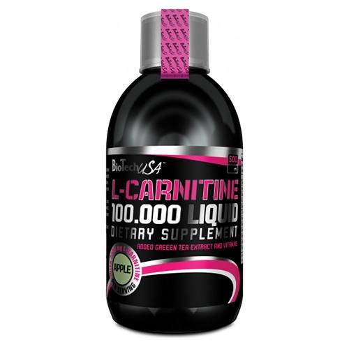 Карнитин L-Carnitine 100000 liquid (500 мл) BioTech USA