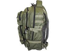 Рюкзак тактический ArmaTek 36 литров (с molle, цвет олива), фото 3