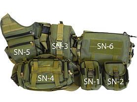 Сумка тактическая SN-1 (подсумок), фото 3