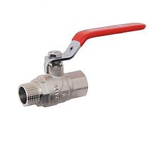 Кран шаровый для воды серии Forte арт 605 ВНР Ду 15