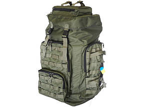 Рюкзак тактичний ArmaTek 75 літрів (колір олива, з molle)