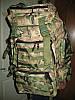 Рюкзак тактичний ArmaTek 75 літрів (колір мультикам, з molle), фото 3