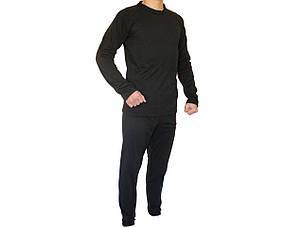 Термобелье мужское (комплект, цвет черный), фото 2