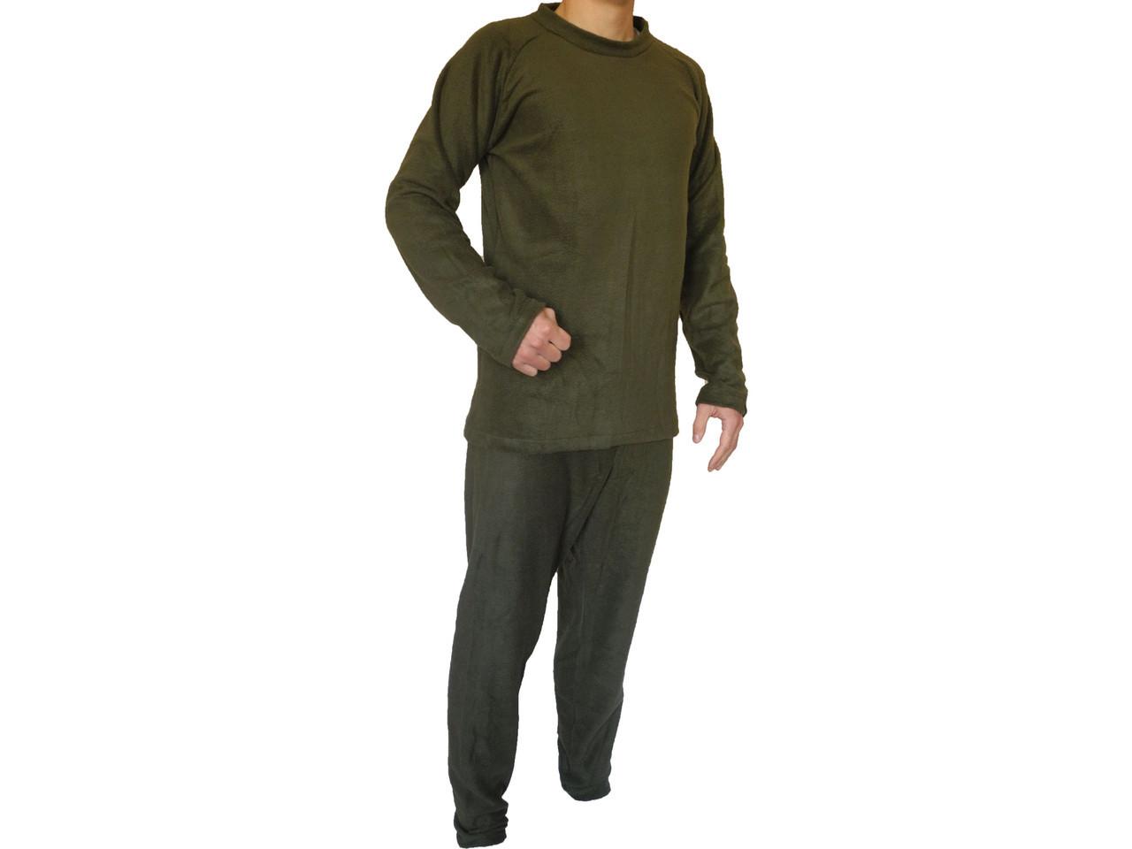 Термобелье мужское (комплект, цвет олива)