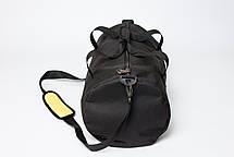 "Спортивная сумка - тубус ""FitGo"" (чёрная), фото 3"