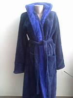 Мужской теплый длинный халат