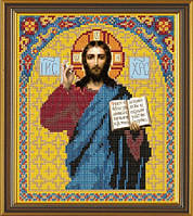 Рисунок на ткани для вышивания бисером Иисус Христос БИС С 9023
