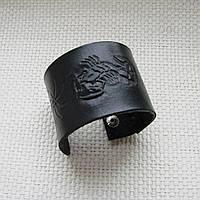 """Кожаный браслет """"Скорпион"""""""