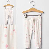 Детские штаны для новорожденной девочки GAP 3-6мес, 6-12мес