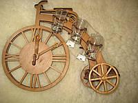 Сувенир Велосипед с рюмками