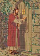 Схема для вышивки бисером Иисус стучится в твою дверь