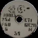 Круг на керамической связке 25А Подбор  по D,T,H