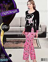 Женская домашняя одежда из Турции Night Angel 2765. Размер 46-48.