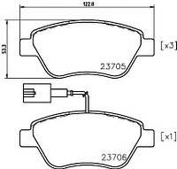 Колодки тормозные TEXTAR 2370502