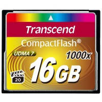 Карта памяти TRANSCEND Compact Flash 16 GB (1000X)