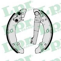 Тормозные Колодки GOLF 00140 LPR задние барабанные 180х30мм AUDI 80 B2 SEAT IBIZA TOLEDO VW GOLF 2 PASSAT B2 1.3-2.1 08.80-03.88 171609525A 531609526