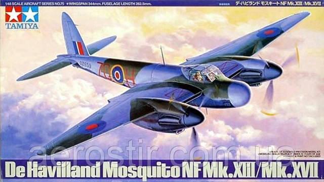 De Havilland Mosguito NF Mk.XIII/ Mk.XVII 1/48 TAMIYA 61075