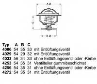 Термостат AUDI 80 Audi 100 PASSAT B3 B4 T4T 5 CTAVIA 1U GOLF2 GOLF 425687D50