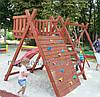 Игровой комплекс горка и качели детские (детская площадка Киев)
