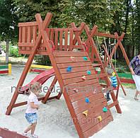 Игровой комплекс горка и качели детские (детская площадка Киев), фото 1
