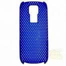 Накладка для Nokia 5130 пластик-сетка Синий