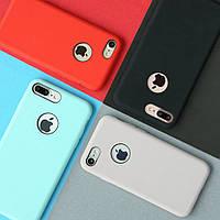 Накладка для iPhone 7 Plus силикон Rock Original Голубой