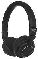 Навушники накладні з мікрофоном безпровідні Ergo BT-690 Black (BT-690 Black)