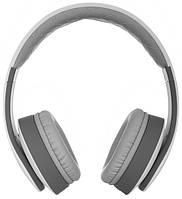 Навушники накладні з мікрофоном безпровідні Ergo BT-790 Grey