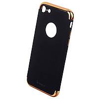 Накладка для iPhone 7 пластик iPaky Joint Shiny Series Чорний/Золотий