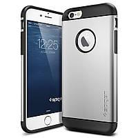 Накладка для iPhone 7 пластик Spigen Case Slim Armor Срібний (SGP-042CS20305)