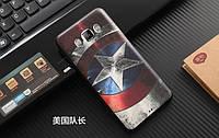 Накладка для Samsung Galaxy J510H J5 силікон Infinity 3D Малюнок Капітан Америка