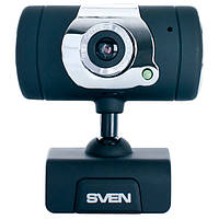 Веб-камера 0.3 Мп с микрофоном Sven IC-525 Black (IC-525)