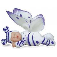 Лялька Анна Геддес (Anne Geddes) Бузкова метелик 23 см, фото 1