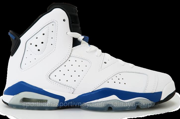 1766a6af62c8 Детские кроссовки Nike Air Jordan 6 Retro BG 384665-107 JR - Спортлидер›  спортивная