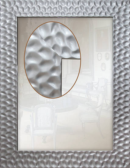 Зеркало в багетной раме 90мм