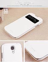 Чехол-книжка Mofi для телефона Samsung I9500 белый white