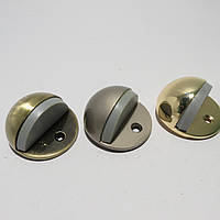 Дверной упор  полусфера AB(бронза), SN(матовый хром), PB(золото)