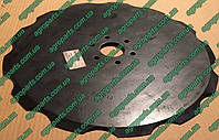 """Диск GD12676 Kinze  Disc Blade, Notched, 16 ¾""""запчасти нож 12676"""