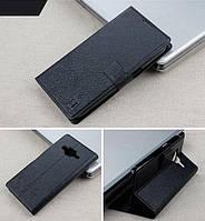 Чехол Samsung G355 / Core 2 книжка Flower Ultrathin черный