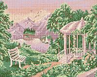 Схема для вышивки бисером Сочинский пейзаж КМР 3061
