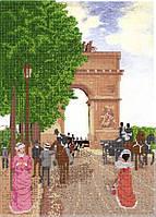 Схема для вышивки бисером А3 Триумфальная арка КМР 3098