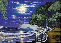 Картина для вышивки бисером размер А3 Звёздная ночь КМР 3063