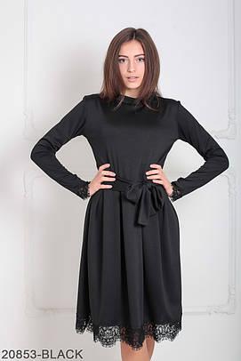 Класичне жіноче чорне плаття Inster (XS-XXL)