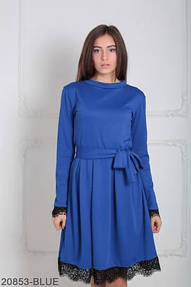 Класичне жіноче синє плаття Inster (XS-XXL)