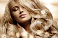 Продам  Славянские волосы блонд в срезе цена за вес 100 грамм