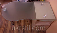 Маникюрный стол Стандарт стеклянный