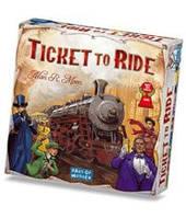 Билет на поезд Америка (англ) (Ticket to ride (Eng)) настольная игра
