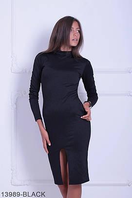 Жіноче чорне повсякденне плаття Libre